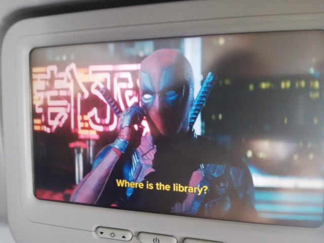 "Deadpool: ""Where is the library?!"""