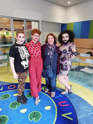 Dragqueens and Dragkings und ich